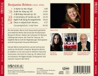 Brittens Centenary-  A Ceremony of Carols