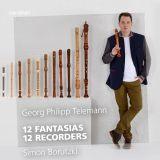 Simon Borutzki:  12 Fantasias - 12 Recorders