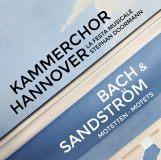 Kammerchor Hannover:  Bach & Sandström