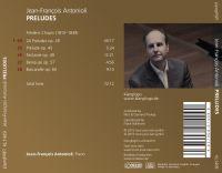 Jean-François Antonioli: Preludes