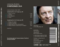 Johannes Brahms: Symphonien 3 & 4