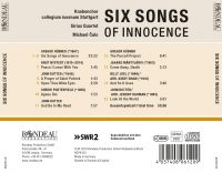 Gregor Hübner: Six Songs of Innocence