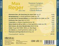 Max Reger: Orgelwerke - Orgellieder