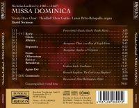 Nicholas Ludford:  Missa Dominica