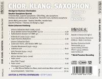 Chor. Klang. Saxophon.   Hymnus meets Ràscher