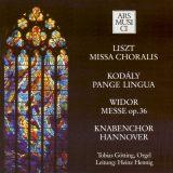 Franz Liszt: Missa Choralis,  Zoltan Kodcly: Pange Lingua