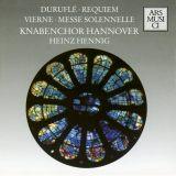Duruflé: Requiem,  Vierne: Messe Solennelle