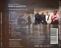 Tempi di Quartetto  Quartetto di Cremona