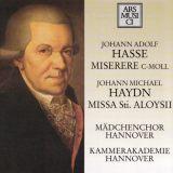 J. Hasse: Miserere c-Moll,  J. M. Haydn: Missa Sancti Aloysii