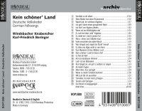 Windsbacher Knabenchor:  Kein schöner Land