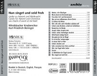 Windsbacher Knabenchor:  Nun singet und seid froh