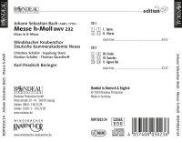 Johann Sebastian Bach:  Mass in B minor BWV 232