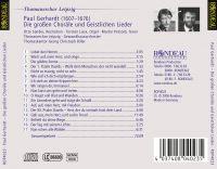 Paul Gerhardt:  Die großen Choräle