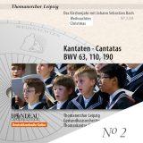 Thomanerchor Leipzig:  Kantaten zu Weihnachten 2/10