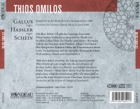 Ensemble Thios Omilos:  Gallus - Hassler - Schein