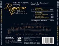 Tomás Luis de Victoria:  Requiem Officium defunctorum