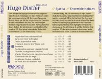 Sjaella & Ensemble Nobiles:  Hugo Distler (1908-1942)