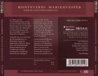 Claudio Monteverdi:  Marienvesper