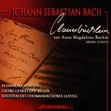 Clavierbüchlein vor  Anna Magdalena Bachin